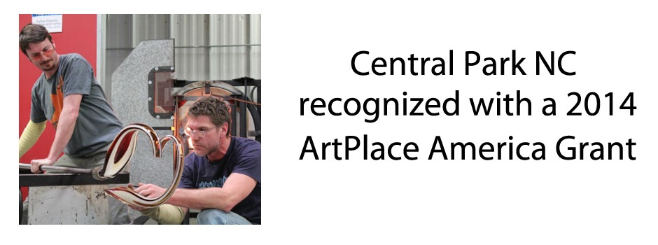 Central Park NC Receives ArtPlace America Grant